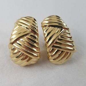 Clip Earrings Ciner Vintage